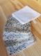 Lingettes lavables démaquillantes **lingettes liberty**handmade** lingettes lavables coton et fibre de bambou
