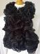 écharpe fantaisie noir