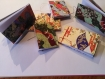 Carnet japonais à couverture souple 6/10 cm, avec couverture en papier washi.