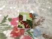 Carnet japonais à couverture souple en papier washi 5,5/7,5 cm. japanese notebook, with flexible cover in washi's paper, 5,5/7,5 cm.