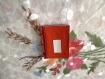 Carnet japonais à couverture souple 5,5/7,5 cm, avec couverture en skivertex