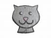 Tête de chat pour accrocher calendrier