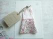 La petite robe n 20 - faire part original naissance baptême fille en tissu
