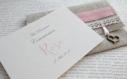 Faire part naissance ou baptême ou baptême rétro n 9 - petites cartes et enveloppes en lin