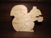 Puzzle ecureuil