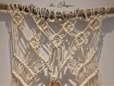 Macramé suspension de tableau