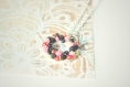 Pendentif fruits rouges
