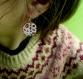 Duo de boucles d'oreilles