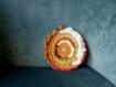 Tissage circulaire* orange et jaune