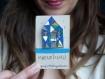 Broche* accessoires* maison* motifs géométriques* vert/ bleu/ doré