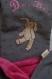 Couverture / plaid bébé pour promenade, sieste ou nuit en douceur et au chaud