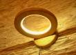 Applique en chêne naturel, applique en bois, lampe en bois, lampe annulaire en bois, luminaire circulaire