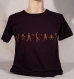 T-shirt sambalou 100% coton bio : petit bonhomme
