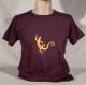 T-shirt sambalou 100% coton bio : salamandre