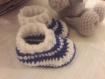 Chaussons bébé de 0 à 12 mois en crochet à la demande