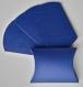 Lot de 10 boites à dragées bleu marine (coussin, oreiller) pour mariage ou baptême