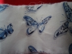 Robe 6 ans  papillon bleu