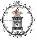 Transfert sur drap ancien thème cage aux roses
