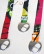 Bracelet ruban de tissu wax ajustable-vagues