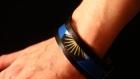 Bracelet wax et cuir - centauree
