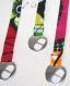Bracelet ruban de tissu africain ajustable-centauree