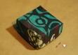 Boîte cameleon en tissu enduit