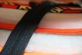 Pochette pour tablette en tissu wax - vagues