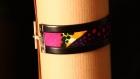 Bracelet wax et cuir - curcuma