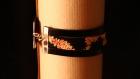 Bracelet wax et cuir - fauve
