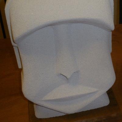 Statue en siporex (béton cellulaire) pour intérieur ou extérieur