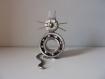 Sculpture en fer, chat, création orignale, décoration maison, figurine chat, cadeau original, moderne