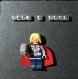 Cadre lego marvel comics thor