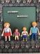 Cadre playmobil famille personnalisable (4 personnes)