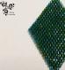 Boucle d'oreille losanges vert en perles miyuki - tissage brick stitch -