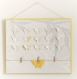 Cadre papillon à relief, effet 3d - pêle mèle décoratif personnalisable