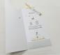Faire part thème éléphant, inspiration babyfan, blanc, jaune et gris avec moulin à vent. faire part personnalisable