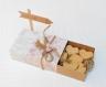 Boite à dragées forme boite d'allumettes -  boite dragée mariage thème voyage