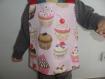 Bavoir élastique enfant en coton serviette de table