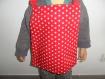 Bavoir enfant élastiquée motif étoiles en coton, serviette de table