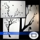 Pochoir pour peindre arbre généalogique pour les photos 10x15cm (3430x)