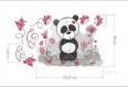 Autocollant de couleur panda (3548f)