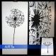 Pochoir pour peindre pissenlit 120x60cm (3066x)