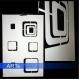 Pochoir pour peindre carrés (2657x)