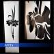 Pochoir pour peindre fleurs de lys (081x)