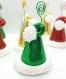 Marque place bonnet de noël vert