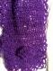 Ensemble écharpe et bonnet flora - violet
