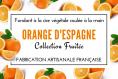 Fondant naturelle à la cire de soja parfumée à l'orange