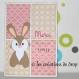 Carte lapin - merci de tout coeur