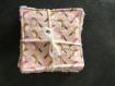 Lingettes lavables 100% coton