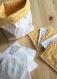 Lingettes lavables et son panier